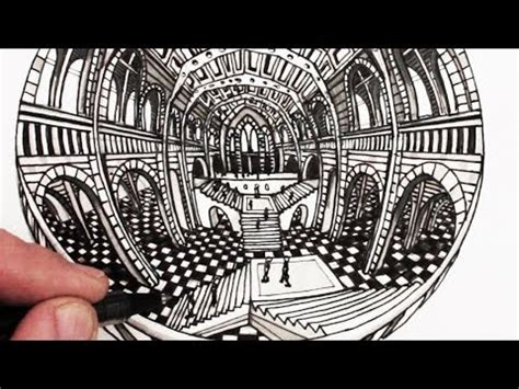Drawing 7 Point by How To Draw Perspective 5 Point Perspective Narrated