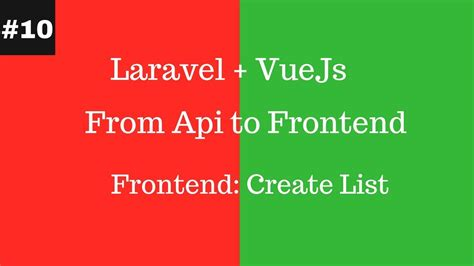 stack vue js 2 and laravel 5 bring the frontend and backend together with vue vuex and laravel books 1508779004 maxresdefault jpg laravel vuejs