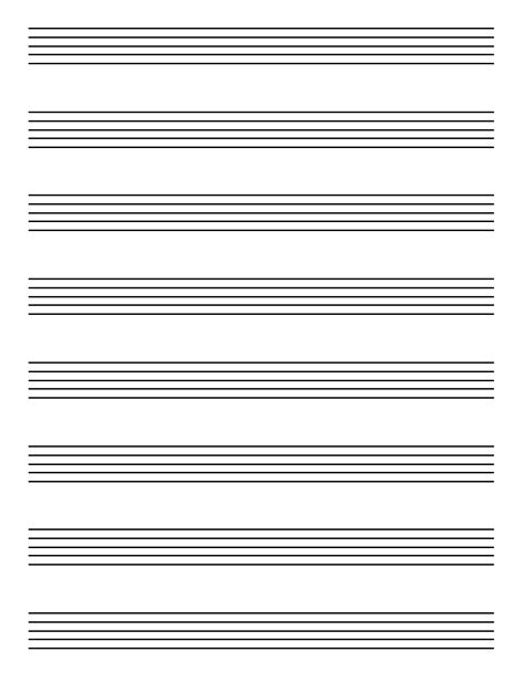 printable music staff paper blank free printable music history and theory worksheets free