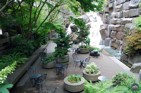 Waterfall Garden Park waterfall garden park serenity in the of seattle seattle