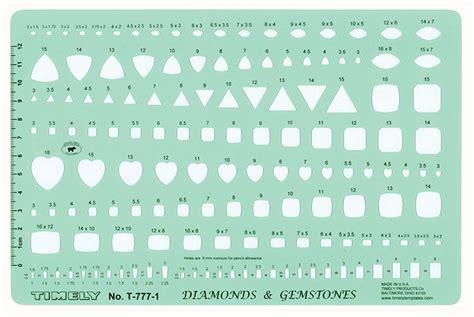 timely ta 777 gemstone drawing templates gemstone