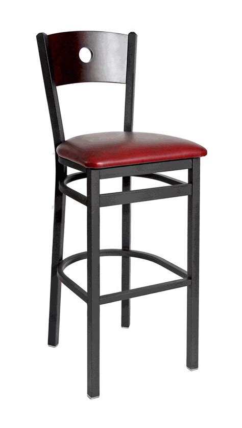 commercial bar stools with backs commercial circle back bar stool bar restaurant furniture tables chairs and bar stools