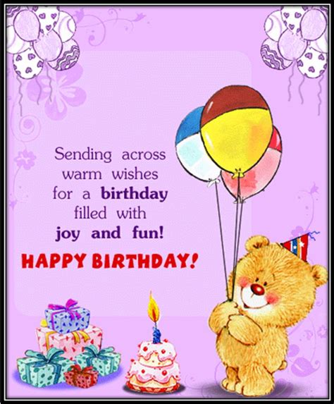 Birthday Cards From Bear Happy Birthday Greeting Cards Birthday Cards
