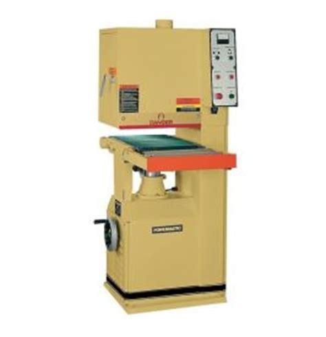 powermatic 1632 7 5hp 16 quot open end wide belt sander hermance