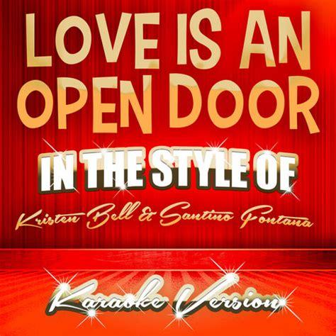 Kristen Bell Is An Open Door by Is An Open Door In The Style Of Kristen Bell And