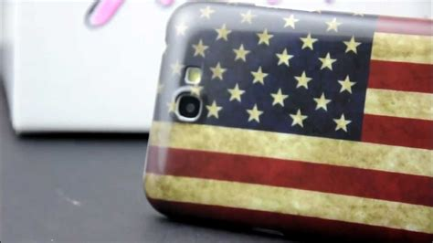 Samsung Note 3 Bola Flag Hardcase Cover Casing retro american usa flag for samsung galaxy note 2