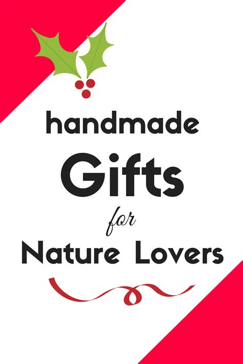 Handmade Gifts For Lover - 12 handmade etsy gifts for nature