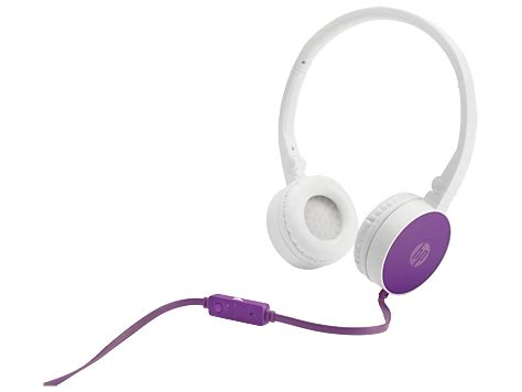 Headset Hp H2800 Hp H2800 Purple Headset F6j06aa Hp 174 Middle East
