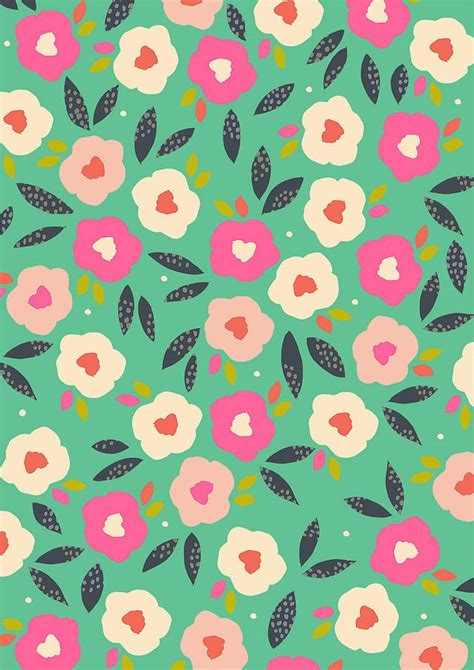 flower pattern modern best 25 flower pattern design ideas on pinterest pretty