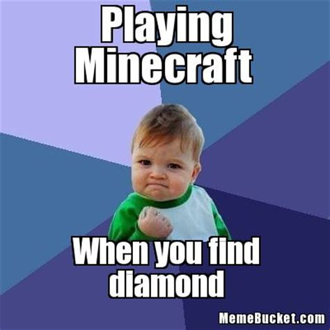 Create Meme With Own Photo - playing minecraft create your own meme