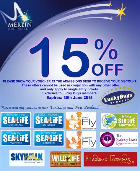 Printable Merlin Vouchers   merlin entertainment voucher luckybuys reward