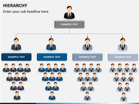 Home Plans Free by Hierarchy Diagram Powerpoint Sketchbubble