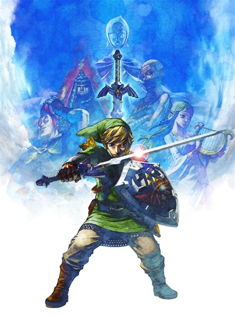 Legend Of Skyward Sword the legend of skyward sword link poster nerdemia