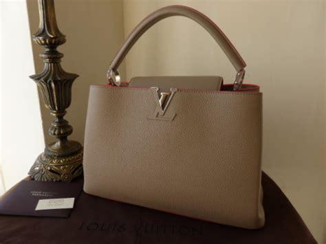 Arrival Louis Vuitton Capucines 3147 louis vuitton capucines mm galet litchi sold