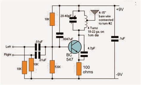single transistor fm transmitter circuit how to build a circuits fm bug transmitters