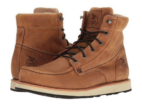 boot small batch 6 quot moc toe wedge at zappos