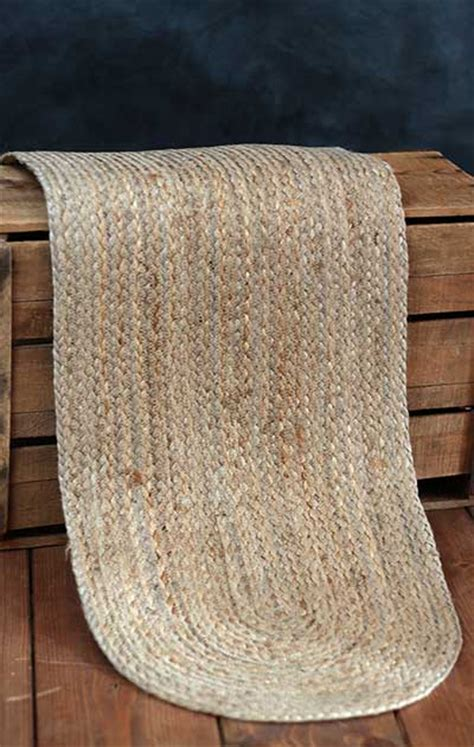 48 inch table runner jute 48 inch table runner by nancy s nook the