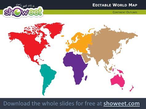 worldmap pixels powerpoint