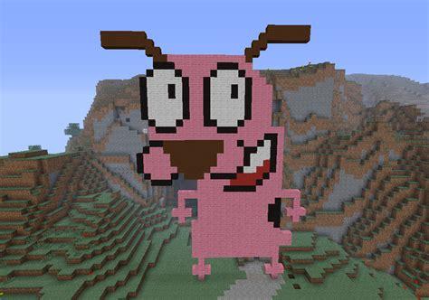 minecraft courage  cowardly dog  jennybeanu