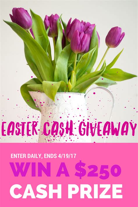 Mom Blog Giveaways - mommy blog expert easter 250 cash giveaway sweepstakes ends 4 19 open worldwide