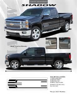 chevy silverado shadow truck 3m vinyl graphics stripes