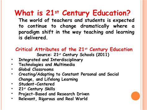 Education 21st Century Essay by Facilitating 21st Century Learning By Leilani C Avila
