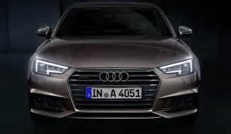 Audi A4 Headlights Audi Reveals A4 S New Matrix Led Headlights Gtspirit