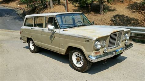 kaiser jeep wagoneer rare 1963 kaiser jeep wagoneer j 164 4 door station wagon