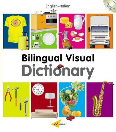 bilingual visual dictionary book interactive cd