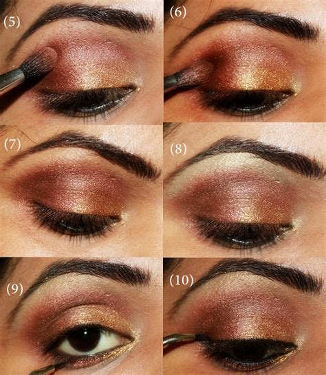 wedding eye makeup step by step 13 of the best eyeshadow tutorials for brown