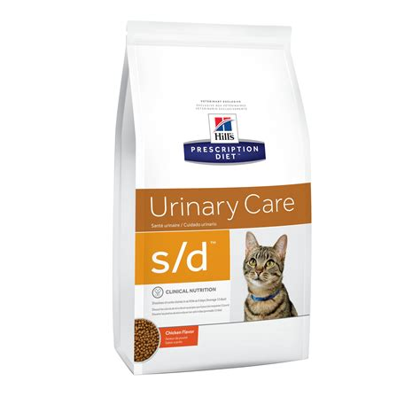 urinary care food hill s prescription diet s d urinary care chicken flavor cat food petco