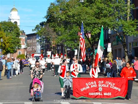 s day neighborhood boston columbus day parade location and time boston