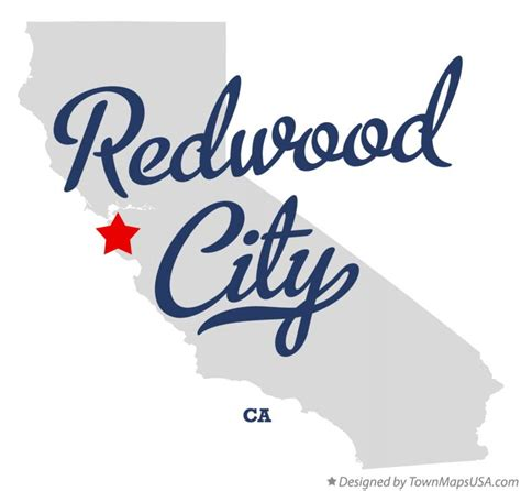 california map redwood city map of redwood city ca california