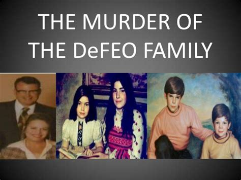 the murders in the the murder of the defeo family