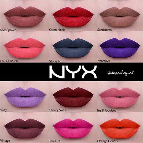 Lipstik Nyx Liquid Suede excited for nyx s new line of liquid suede lipsticks cat fashion
