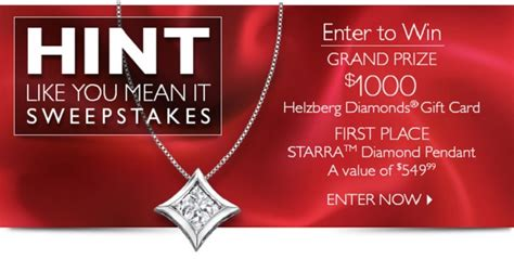 Sweepstakes Meaning - helzberg diamonds hint like you mean it sweepstakes helzberghints the denver housewife
