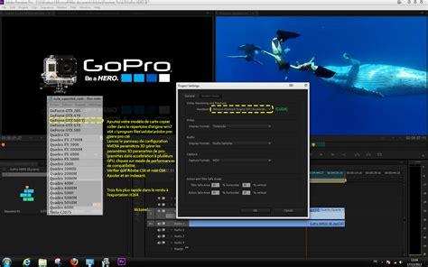 adobe premiere cs6 gpu acceleration nouvelles technologies