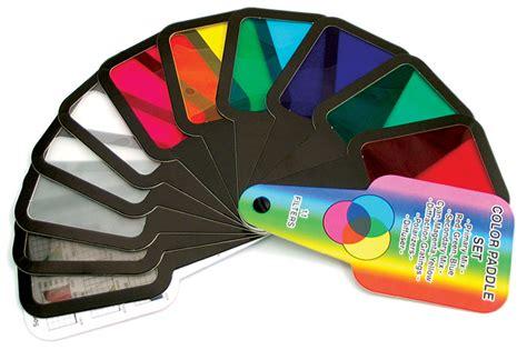 color filter light color color filter paddles