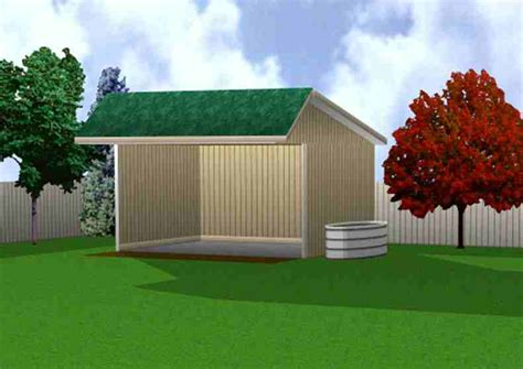 How To Build A Run In Shed For Horses by Firewood Shed Plans On Skids For Sale