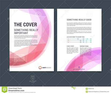 9 best images of magazine layout cover abstract colorful set of abstract colorful layout brochure magazine flyer
