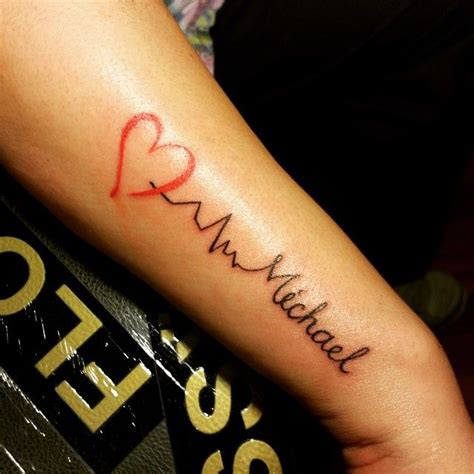 the 25 best ideas about heartbeat tattoos on pinterest