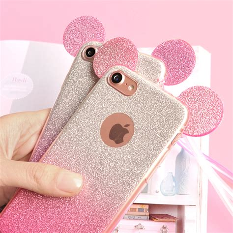 Casing Samsung A3 2017 Mickey And Minnie Mouse Custom 3d minnie mickey mouse ears for samsung galaxy s8 s7 s6 edge s5 a3 a5 j3 j5 2016 for