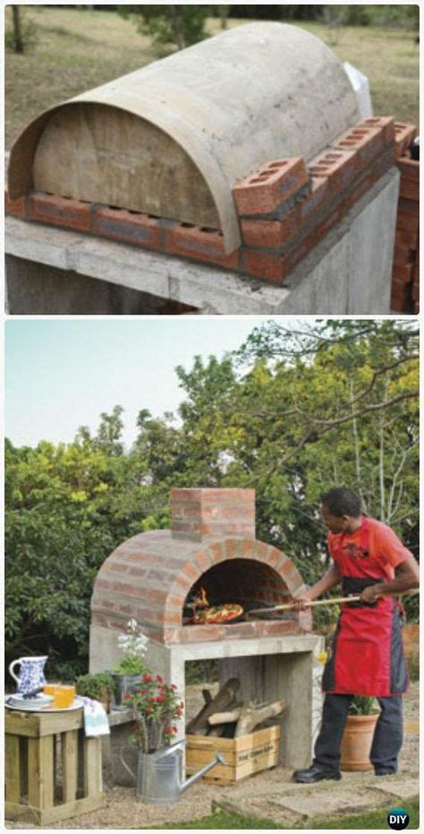 diy backyard pizza oven diy outdoor pizza oven ideas projects with instructions