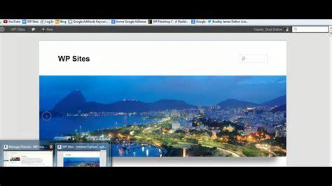 wordpress theme free video header add image slider in wordpress header youtube