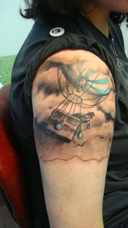 tattoo hot air balloon hot air balloon tattoo tattoos pinterest