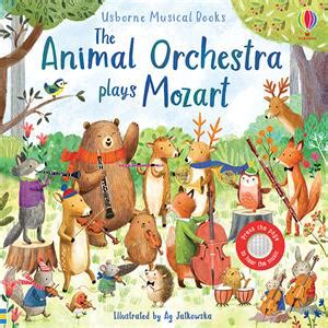 usborne books  animal orchestra plays mozart