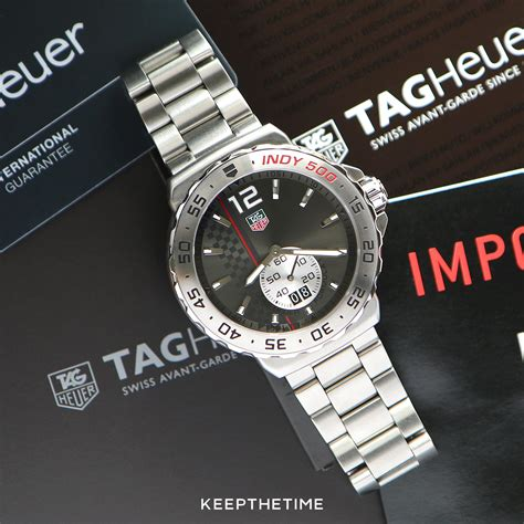 Tag Heuer F1 Indy For 1 tag heuer f1 formula one indy 500 limited edition on a