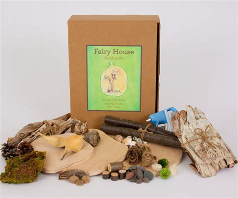 fairy house kit fairy house building kit little goose toys