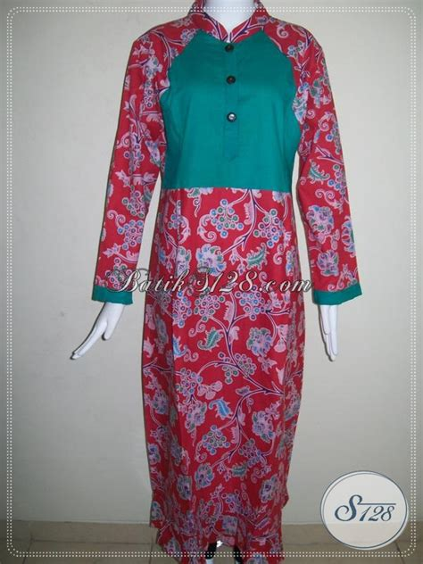 Kain Dobby Polos 41 Warna Timbul 2 M gamis batik kombinasi kain polos warna merah kombinasi hijau g021p l toko batik 2018