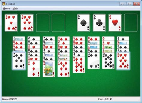 Lookup Free Cell Windows Minesweeper Solitaire Freecell Etc